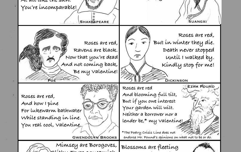 Poetry Crisis Valentines