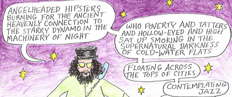 Allen Ginsberg calls the Poetry Crisis Line