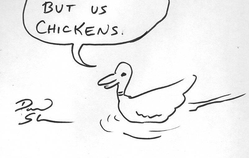 Poets answer an age-old question: Why did the chicken cross the road? (part 4)
