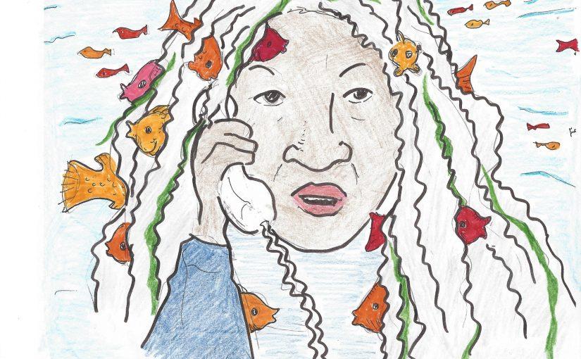Toni Morrison calls the Poetry Crisis Line